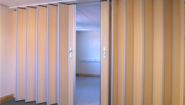 image 1578282157 Folding PVC Door 3F 760x434 - What are Folding Partitions Used For?